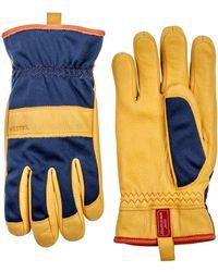 Hestra - 'tor' Leather Gloves - Lyst