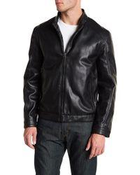 Andrew Marc - Logan Moto Jacket - Lyst