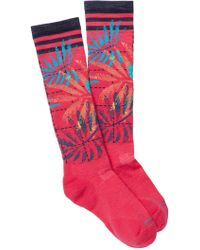 Smartwool - Phd Slope Le Palms Pattern Knee High Socks - Lyst