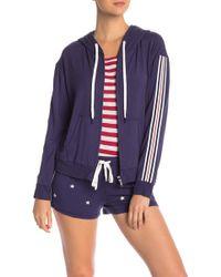 Pj Salvage - 76 Stripe Sleeve Jacket - Lyst