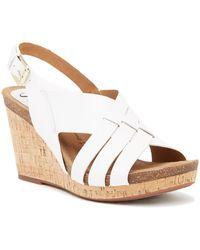 Söfft - Chesny Leather Wedge Sandal - Lyst