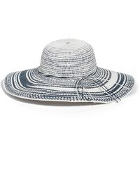 Caslon - Floppy Straw Hat - Lyst