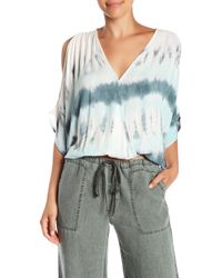 Young Fabulous & Broke - Colette Cold Shoulder Tie-dye Top - Lyst