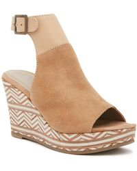 Matisse - Harlequin Wedge Sandal - Lyst