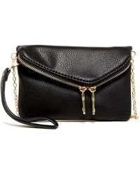 Urban Expressions - Lucy Mini Flap Convertible Vegan Clutch - Lyst