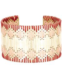 Lucky Brand - Threaded Statement Cuff Bracelet - Lyst