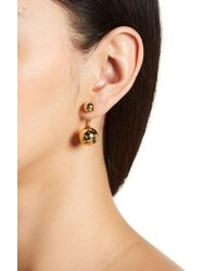 Trina Turk - Double Ball Front To Back Earrings - Lyst