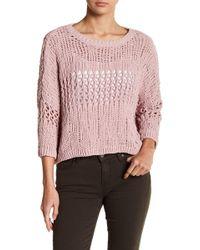 Fate - Knit Drop Shoulder Sweater - Lyst