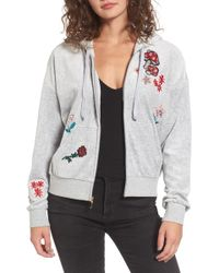 Juicy Couture - Sunset Velour Track Zip Hoodie - Lyst