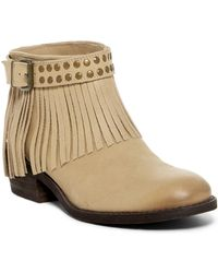 Naughty Monkey - Amiggo Fringe Ankle Boot - Lyst