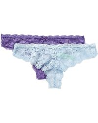 Honeydew Intimates | Camelia Lace Thong - Pack Of 2 | Lyst