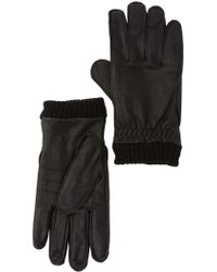 Barbour - Barrow Leather Gloves - Lyst