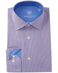 Bugatchi - Printed Shaped Fit Dress Shirt - Lyst