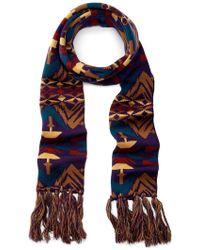 Pendleton - Long Wool Fringe Scarf - Lyst