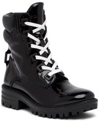 Kendall + Kylie - East Leather Lug Boot - Lyst