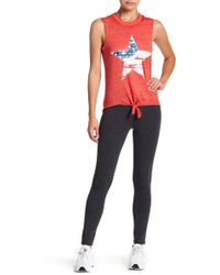 Warrior by Danica Patrick Active - Cotton Leggings - Lyst