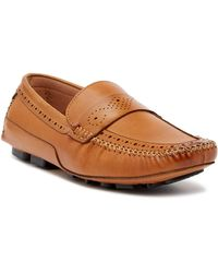 Robert Graham - Playa Leather Loafer - Lyst
