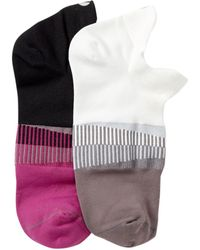 Yummie By Heather Thomson | Athletic No-show Socks - Pack Of 2 | Lyst