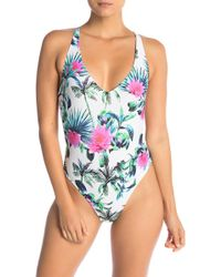 Rip Curl - Palms Away One-piece Swimsuit - Lyst
