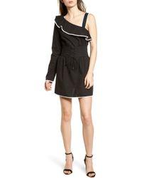 Lovers + Friends - Helen One-shoulder Ruffle Dress - Lyst