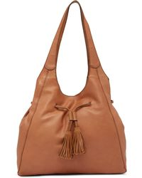 Lucky Brand - Ayva Suede Tote - Lyst
