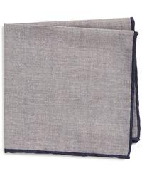Eleventy - Solid Pocket Square - Lyst