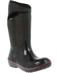 Bogs - 'plimsoll - Prince Of Wales' Tall Waterproof Snow Boot - Lyst