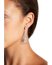 Nadri - Cz Teardrop Drop Earrings - Lyst