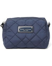 d6f23e777e36 Lyst - Marc By Marc Jacobs Large Black Crosby Quilted Cosmetic Bag ...