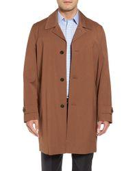 Michael Kors | Trim Fit Waterproof Overcoat | Lyst