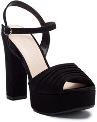 Chinese Laundry - Allie Pleated Platform Sandal - Lyst