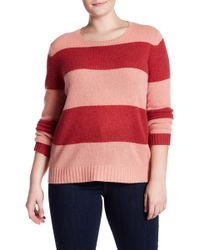 bb998107d32 NAKEDCASHMERE - Titia Stripe Cashmere Sweater (plus Size) - Lyst