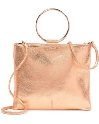 Thacker NYC - Pompom Leather Crossbody Bag - Lyst