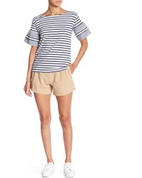 Romeo and Juliet Couture - Loop Belt Shorts - Lyst
