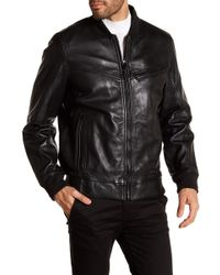 Andrew Marc - Martense Leather Jacket - Lyst