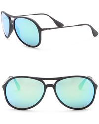 Ray-Ban - Alex Youngster 59mm Pilot Sunglasses - Lyst