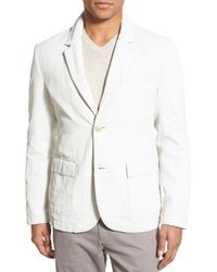 James Perse - Two Button Notch Lapel Sport Coat - Lyst