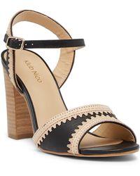Klub Nico - Talici Leather Block Heel Sandal - Lyst