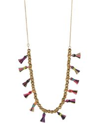 Gorjana - Havana Tassel Necklace - Lyst