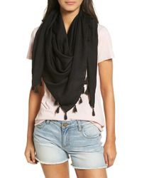 Hinge - Open Stitch Panel Scarf - Lyst