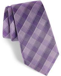 Calibrate - Cobbin Plaid Silk Tie - Lyst