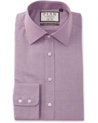 Thomas Pink - Slim Fit Boyd Plain Dress Shirt - Lyst