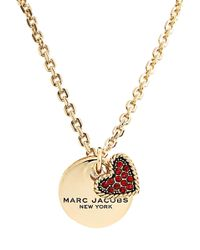 Marc By Marc Jacobs - Marc Jacobs Coin Cluster Pendant Necklace - Lyst