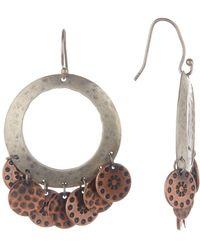 Peyote Bird - Sterling Silver & Copper Earrings - Lyst