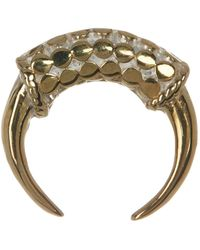 Anna Beck - 18k Gold Plated Mini Horn Earrings - Lyst