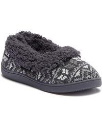 Muk Luks - Full Foot Faux Fur Lined Slipper - Lyst