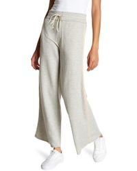 Mother - The Lounge Roller Raw Hem Pants - Lyst