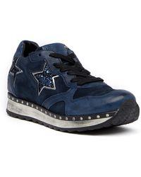 Khrio   Glittery Star Contrast Sneaker   Lyst