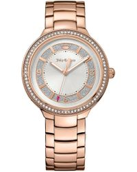Juicy Couture - Women's Catalina Crystal Bracelet Watch - Lyst