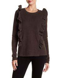NYTT - Zoe Ruffled Sweater - Lyst